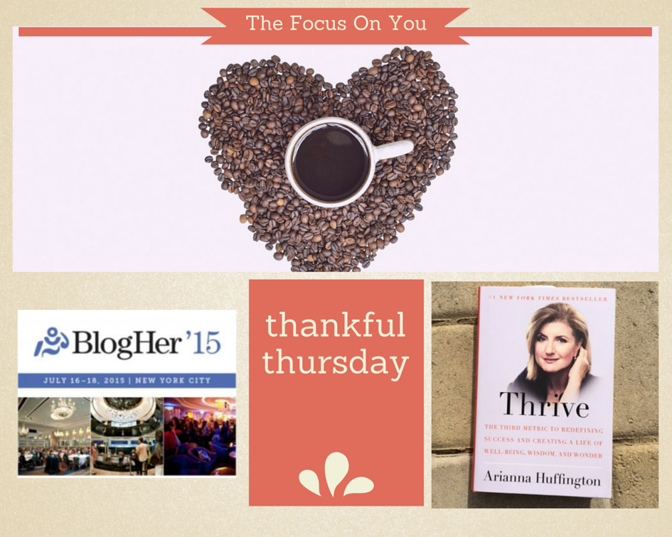 Thankful Thursday: My Top 5