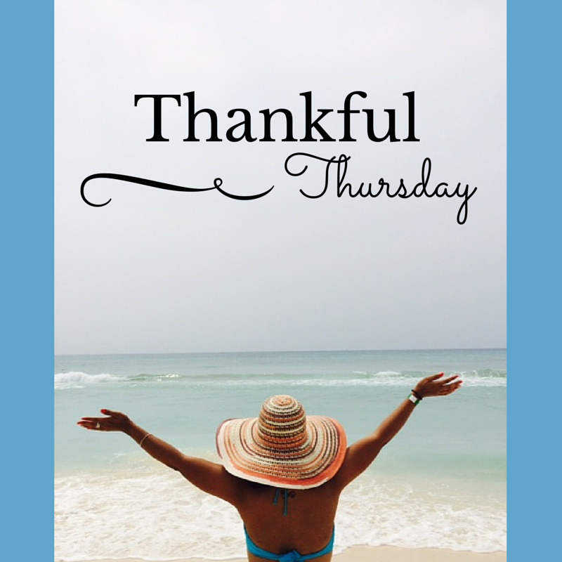Thankful Thursday – Eliminating Toxic Thoughts