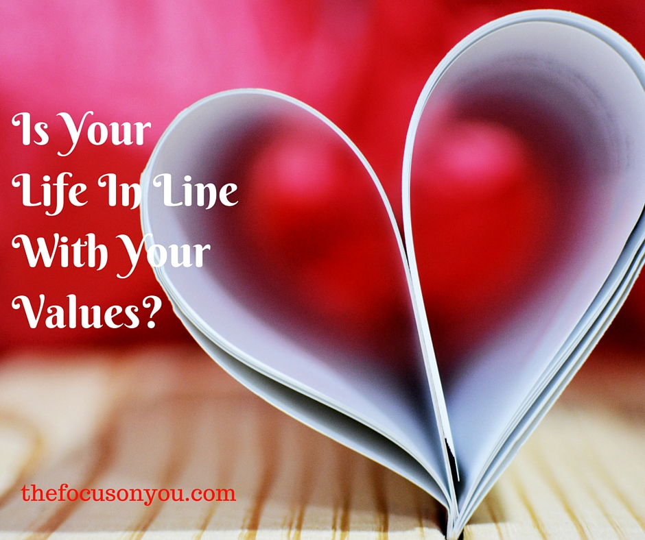 Is Your Life In Line With Your Values?