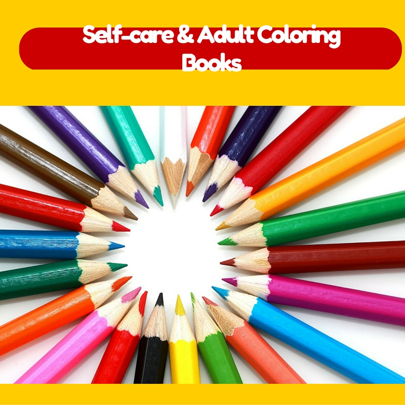 Self-Care and Adult Coloring Books: My October Challenge