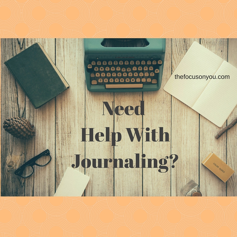 Need Help With Journaling?