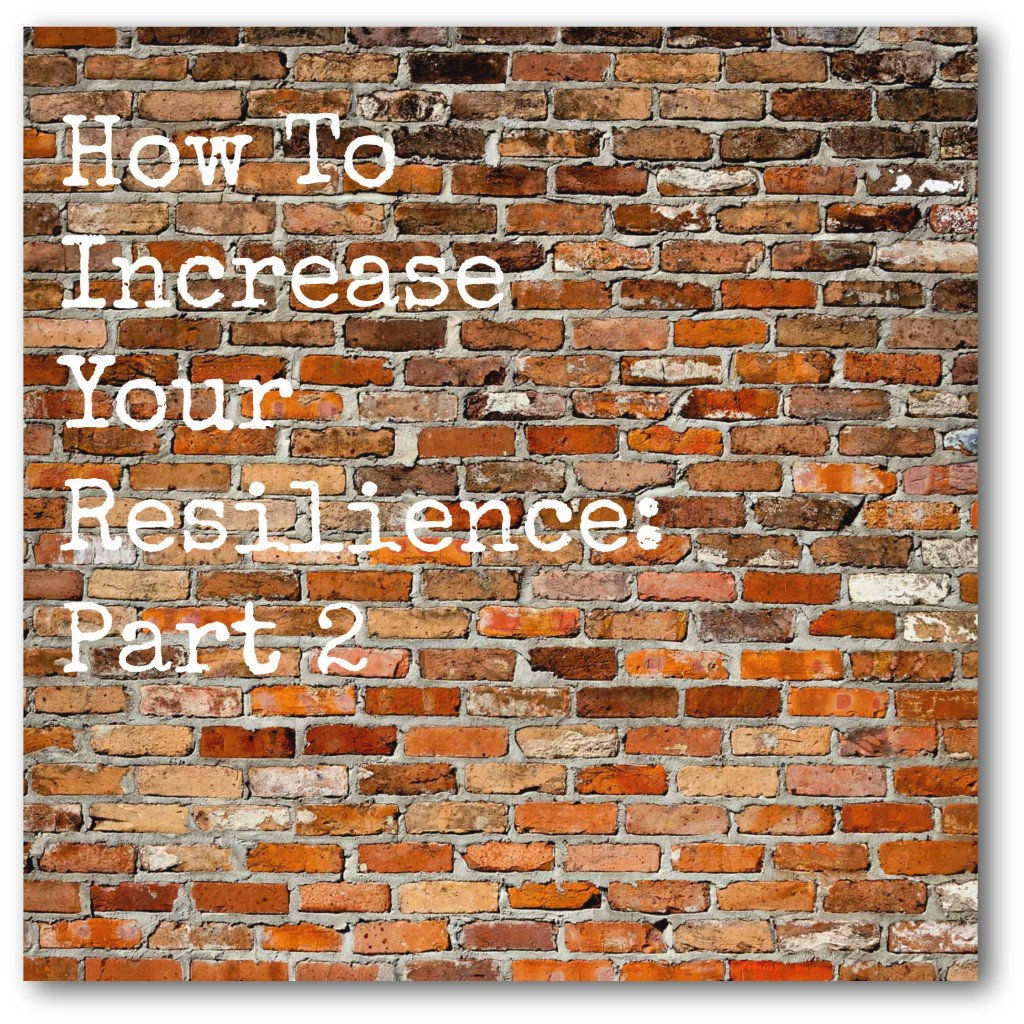 Part 2: How To Increase Your Resilience