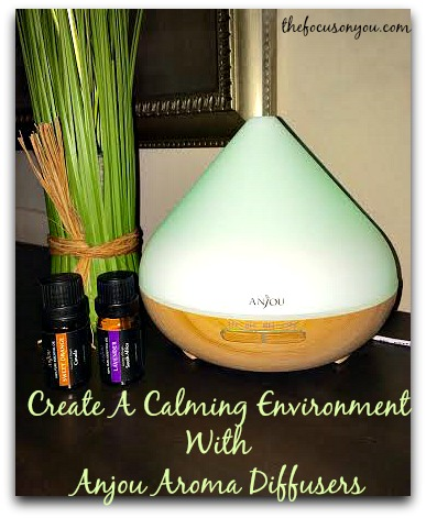 Create A Calming Environment With Anjou Aroma Diffusers!