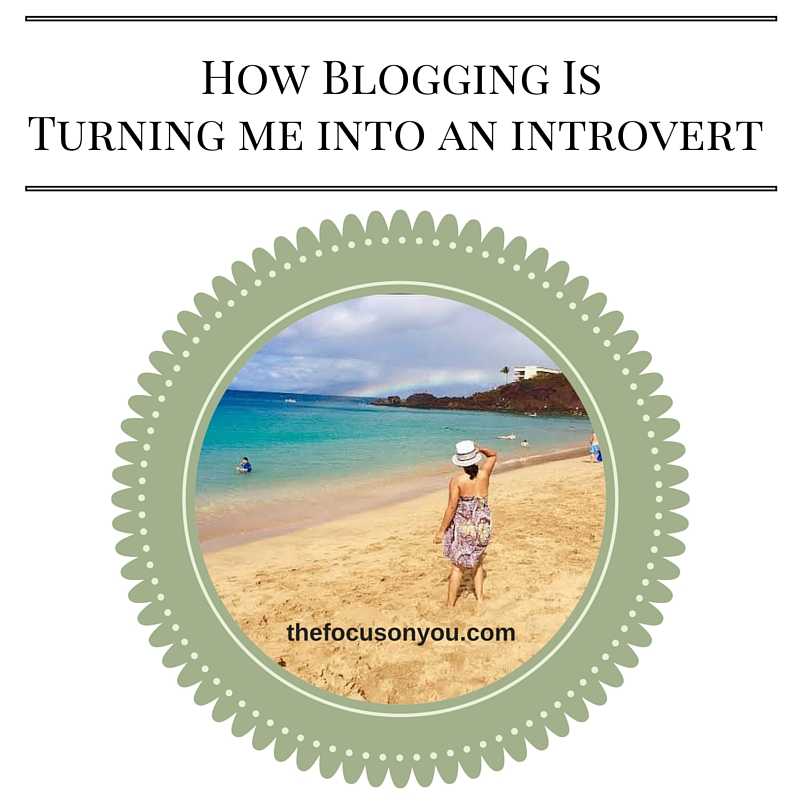 How Blogging Is Turning Me Into An Introvert