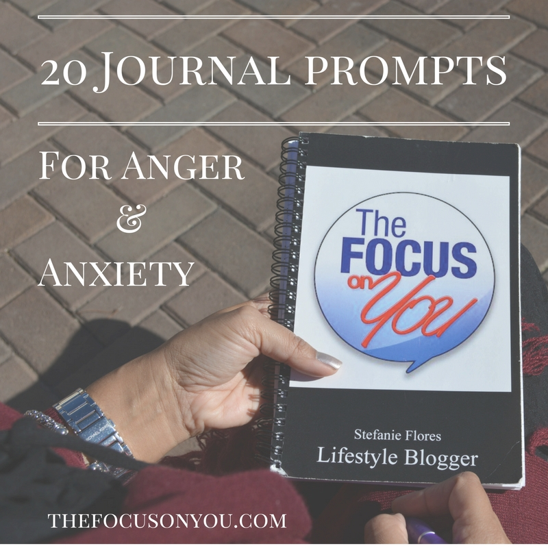 20 Journal Prompts For Anger And Anxiety
