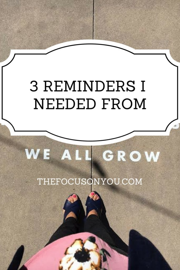 3 Reminders I Needed From The We All Grow Summit