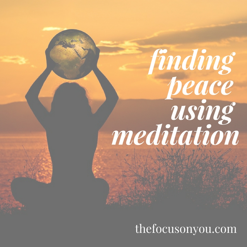 Finding Peace Using Meditation